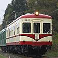 賑わいのレトロ電車