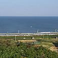 日本海と寝台電車