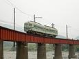 大井川を渡る21001系