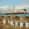 矢作川を渡るパノラマDX その2