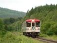 釧北峠を目指すCR70普通列車