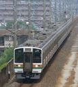 愛知環状鉄道に乗り入れる211系