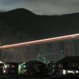夜の餘部鉄橋