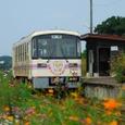 花咲き誇る浜駅