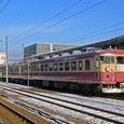 富山駅に停車中の475系国鉄色
