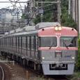 東松原に進入する急行電車