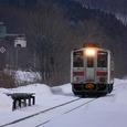 北星に到着する普通列車