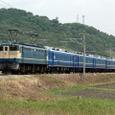 初夏の山陽路を行く客車列車