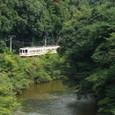 渓谷を行く飯田線