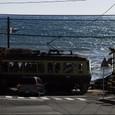 湘南の海と江ノ電