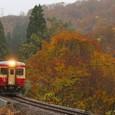 秋色の大白川