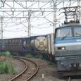 根府川を通過する貨物列車