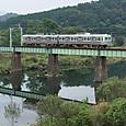 渡良瀬鉄橋を行く700型