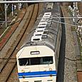 熊坂トンネルへ向かう食パン電車