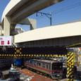 第一京浜を横切る京成3700形