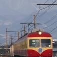飯縄山とリンゴ電車