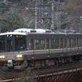 篠山川を渡る223系