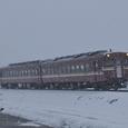 凍てつく道をゆくキハ58
