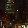 サンシャイン60の夜景と都電