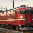 赤い普通電車