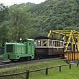 武利川鉄橋を渡るナロー列車
