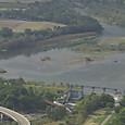 湧別川を渡るオホーツク3号