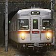 関崎トンネルを出る3500系