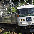1本だけの185系普通列車