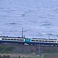 日本海を駆ける「いなほ」