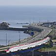 日本海を北上するE6系