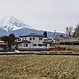 富士山麓を行くスカ色