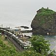 恵比寿島を見下ろして