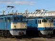 EF65 86と1038の並び