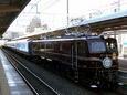 宮原駅に停車中の「2005 X'mas Train」