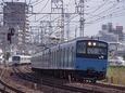 須磨を発車した普通電車