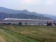 「のぞみ」吉井川を渡る