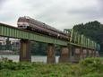 熊野川を渡る「南紀」