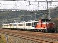 ターボエンジン高らかに東海道本線を行く「あすか」