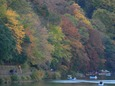 渡月橋からの紅葉