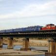 宮川を渡る伊勢初詣列車