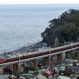 玉川鉄橋を行く「ゆとり」