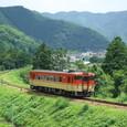 相坂峠へ向かう普通列車