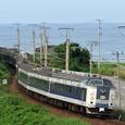 日本海縦貫線を行く急行「あおもり」