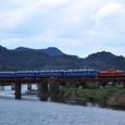 矢田川鉄橋を行く「だんだん山陰号」