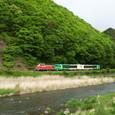 千曲川沿いを行く風っこ