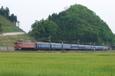 孤塁の縦貫列車