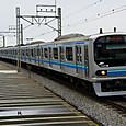 TMR車の快速電車